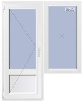 """Цены на пластиковые окна в доме серии копэ от """"оконной компа."""