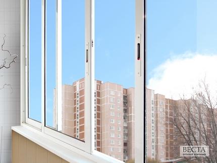 Цены на остекление балконов в доме серии п-55.